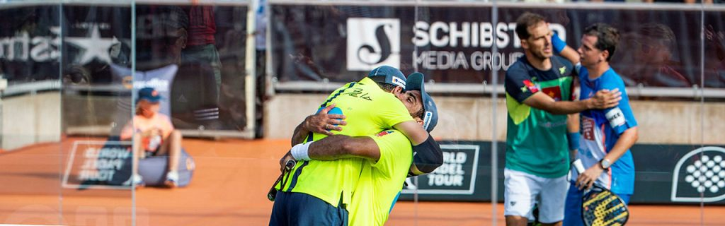 Bela & Lima i Swedish Padel Open