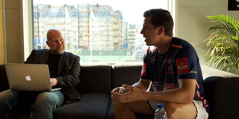 Johan Håkansson och Paquito Navarro